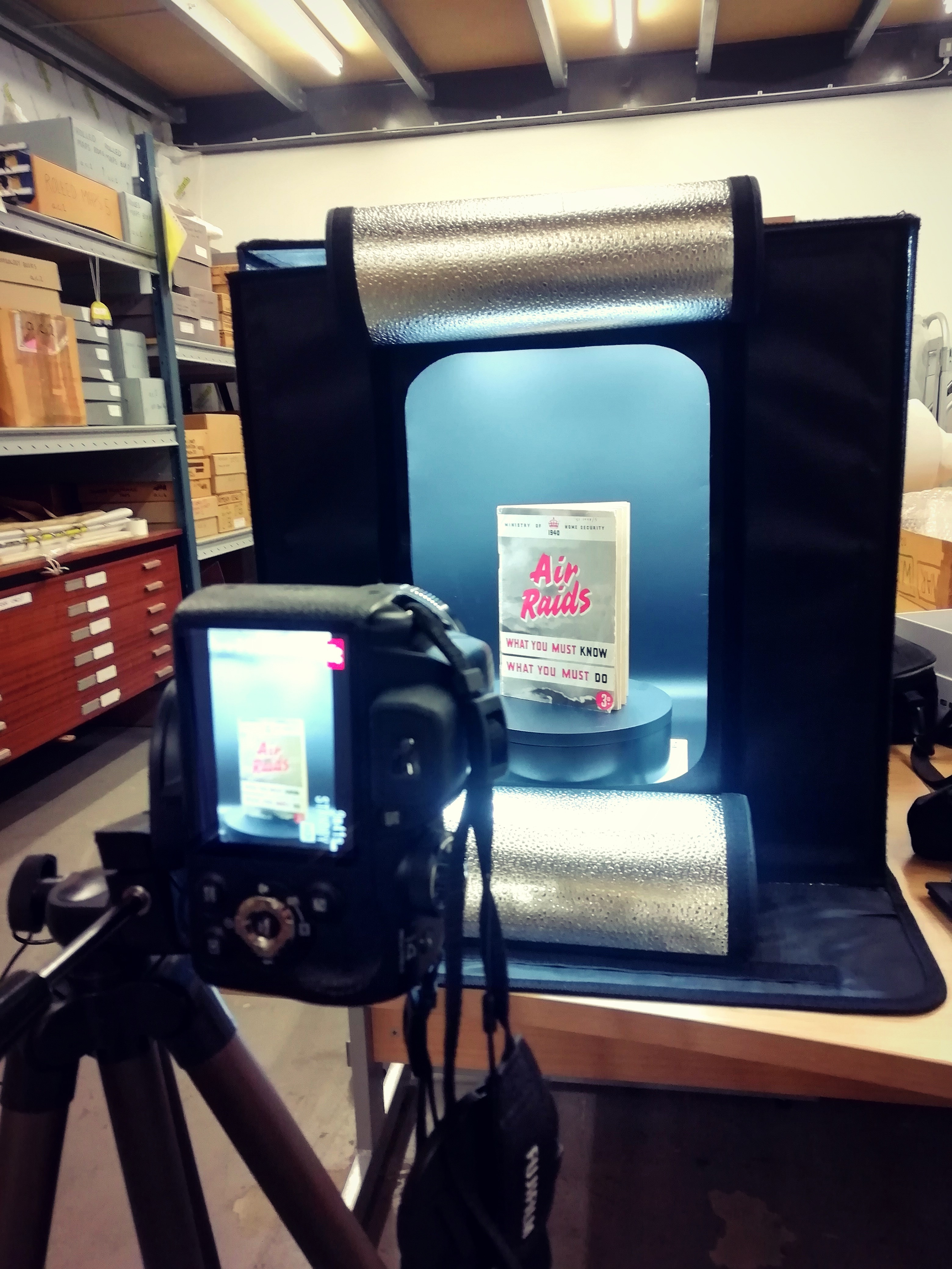 Camera and lightbox