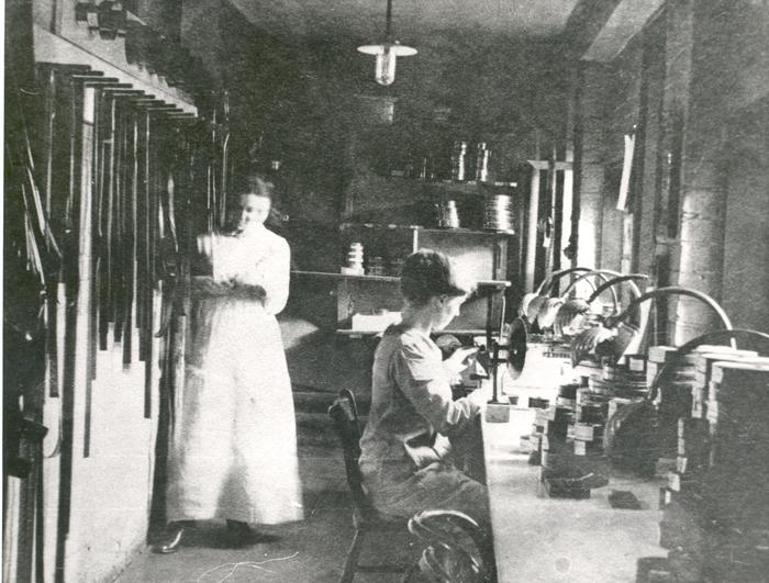 Women at Hepworth Studios
