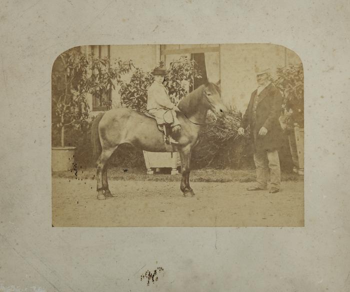 J S Gill riding pony