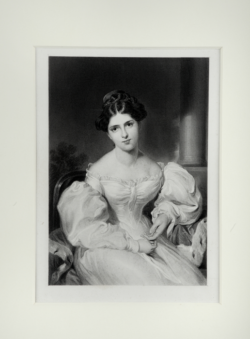 Print of Fanny Kemble, 19th Century, after Sir Thomas Lawrence.