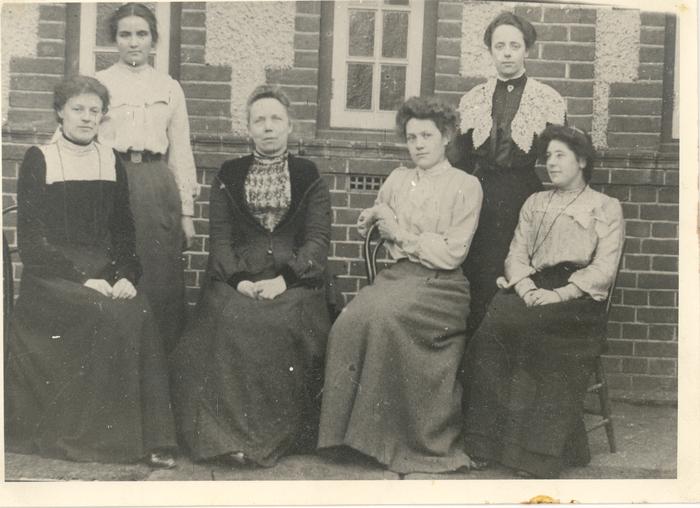 Female teachers, St James' School