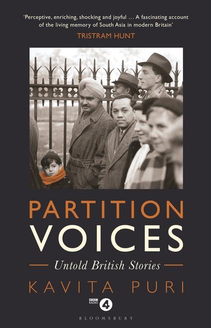 'Partition Voices: Untold British stories' by Kavita PuriBooklist Partition Voices