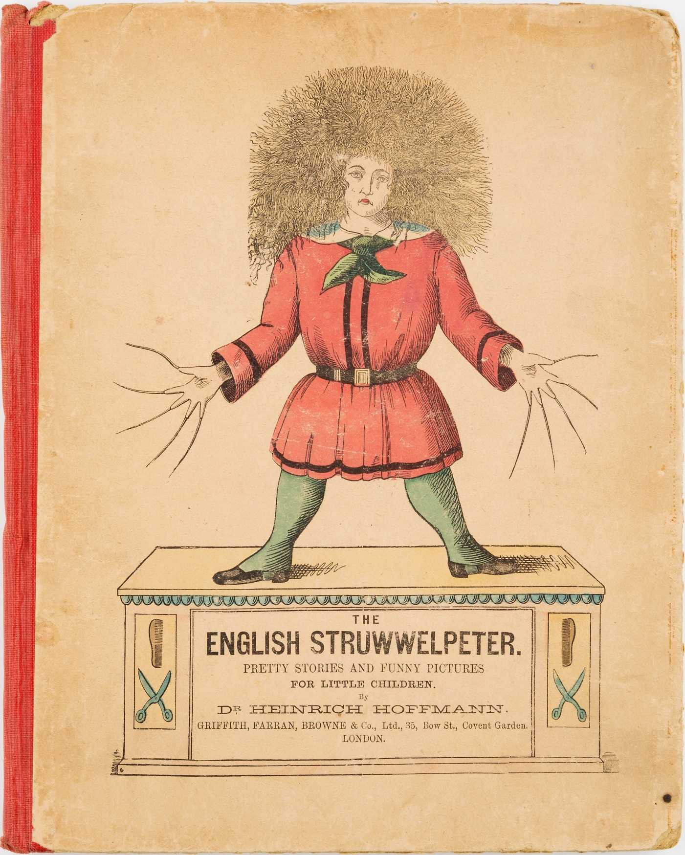 'The English Struwwelpeter' by Dr Heinrich Hoffman, c. late 1800s.