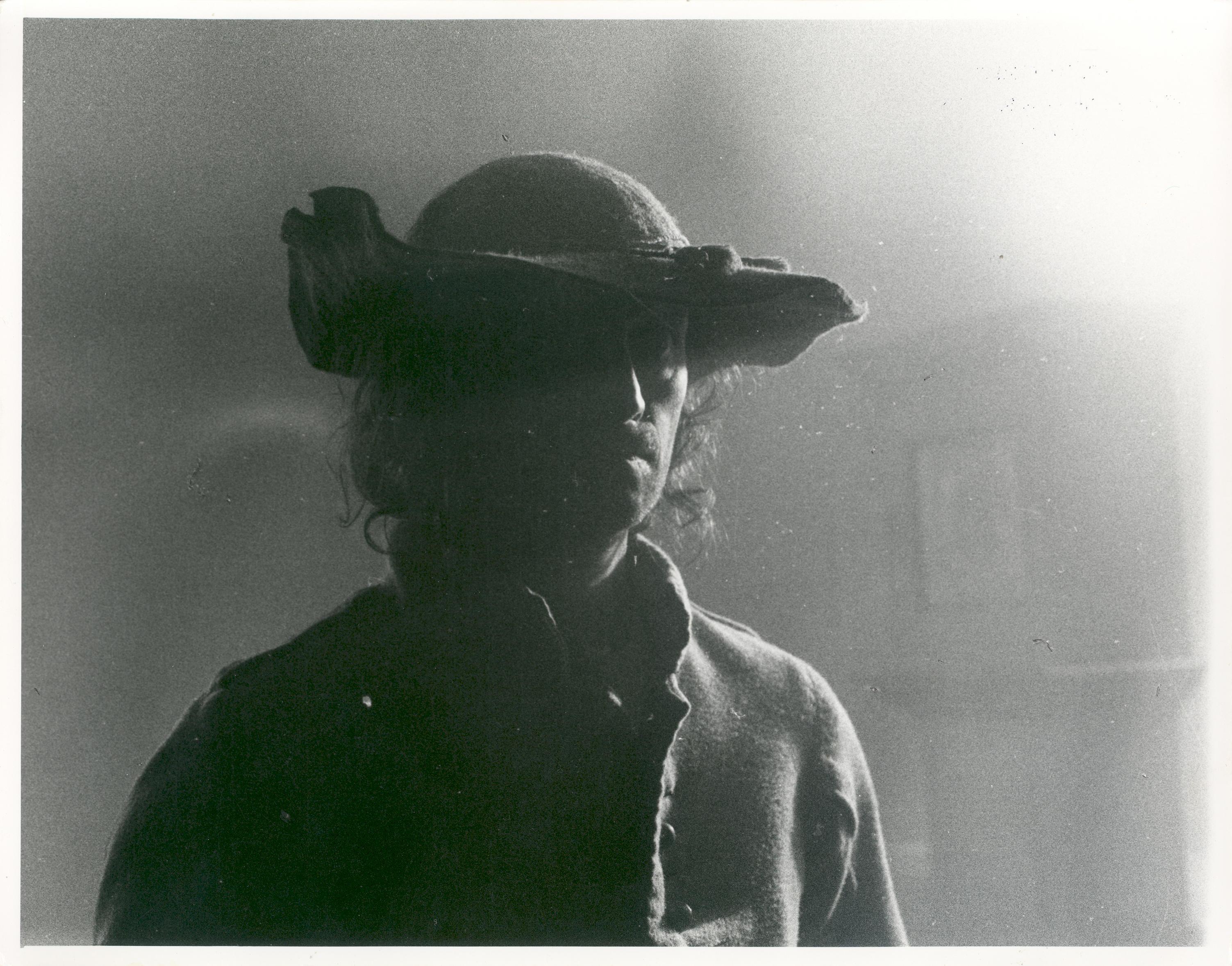 Miles Halliwell playing Gerrard Winstanley in the 1975 film 'Winstanley'.