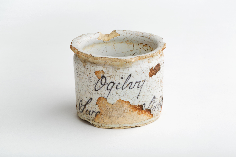 Tudor ointment jar