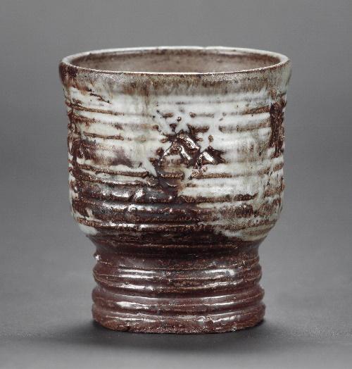 Goblet pot created by Denise Wren, 1960s.