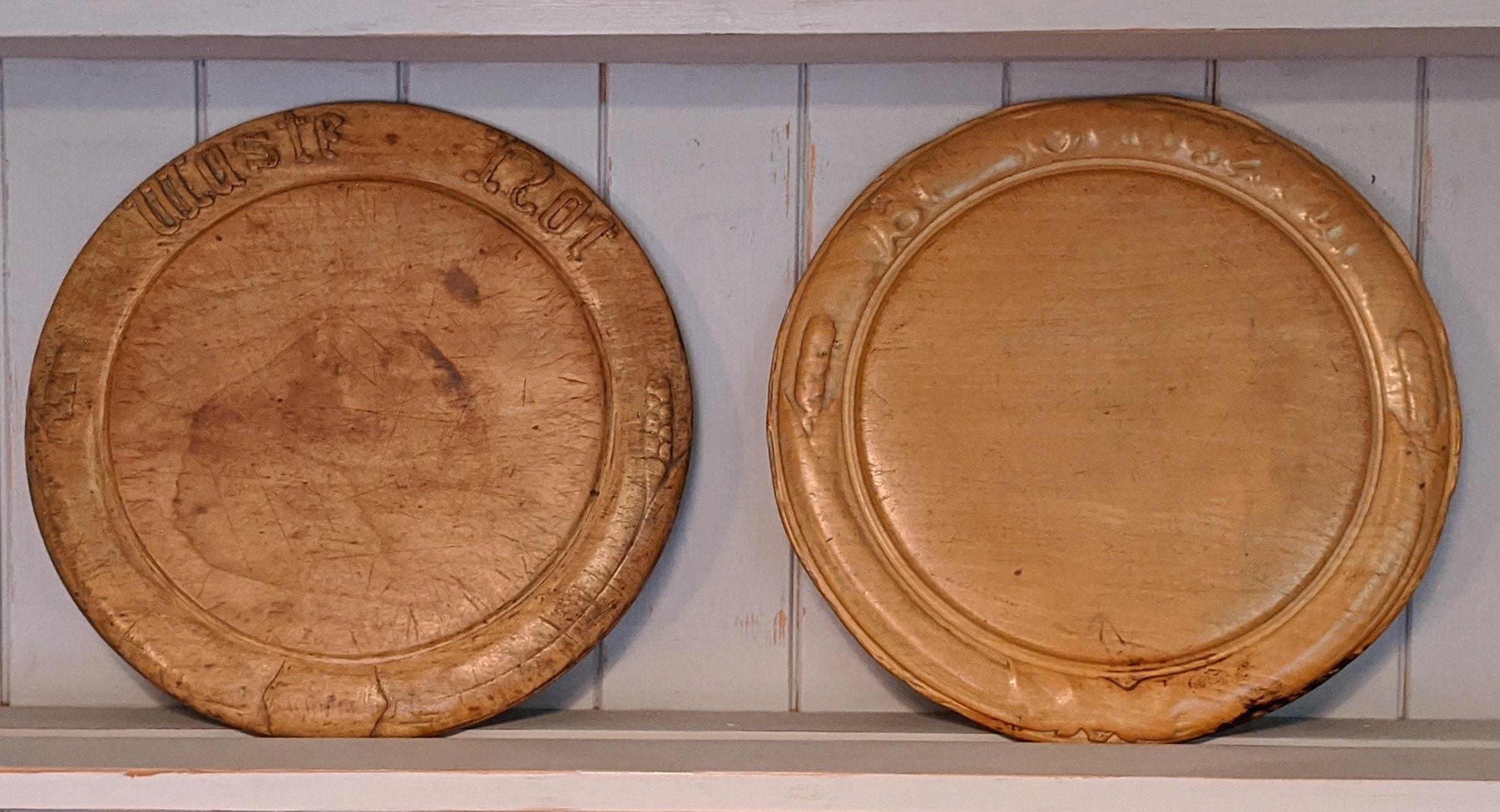 Antique breadboards