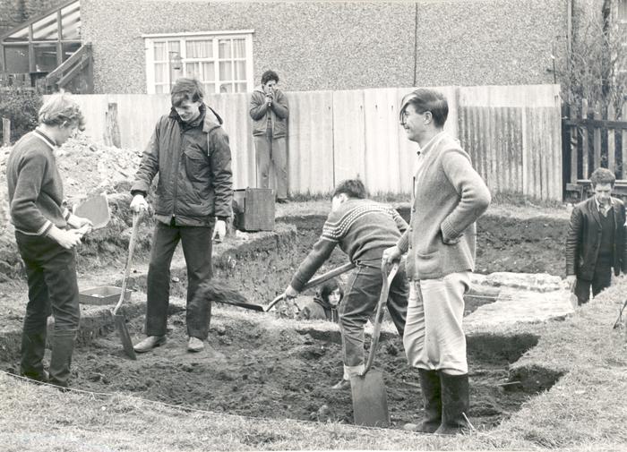 Excavation of Oatlands Palace
