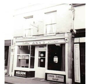 Ann's Coffee Lounge at 9 Church Street, Cobham. Photo courtesy of Tracey Ferris, contributed by Cobham Conservation & Heritage Trust.