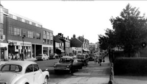 Fine Fare, Cobham, c.1960s. Photograph courtesy of Terry Gale, contributed by the Cobham Conservation & Heritage Trust.