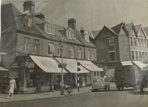 H G Payne's, Confectioner & Tobacconist, Walton High Street, c.1950s. Contributed by Sandra K.