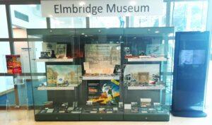 The Historic High Streets Exhibition at Elmbridge Borough Council's Civic Centre, Esher High Street, April 2021.