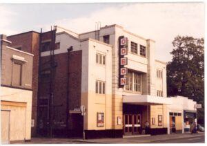 The Odeon, Walton High Street, from the left, taken on the day it closed in November 1980.