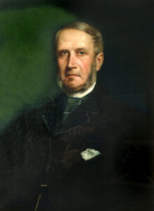 Oil on Canvas portrait of John Philip Fletcher, c.1870. Artist unknown.