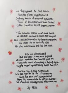 By Millie, Hinchley Wood Secondary School